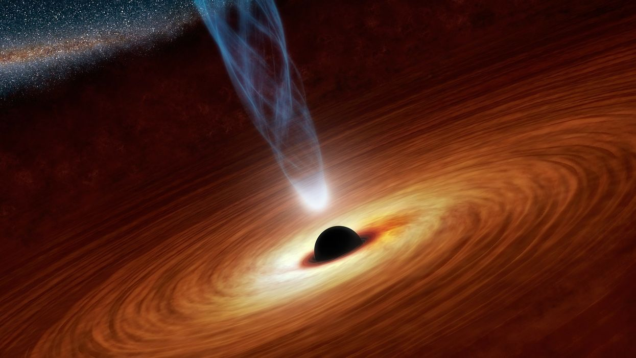 Matter can travel to the future through black holes, predicts new theory