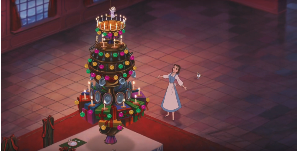 """60 Thoughts I Had While Watching """"Beauty and the Beast: The Enchanted Christmas"""""""