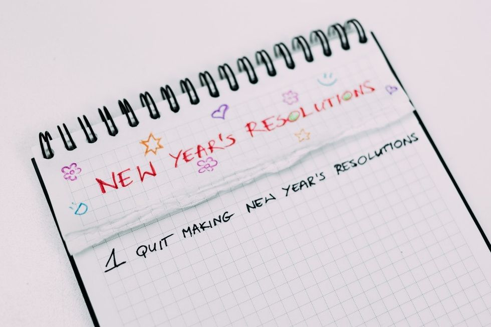 Living With Anxiety Makes Making New Year's Resolutions Difficult