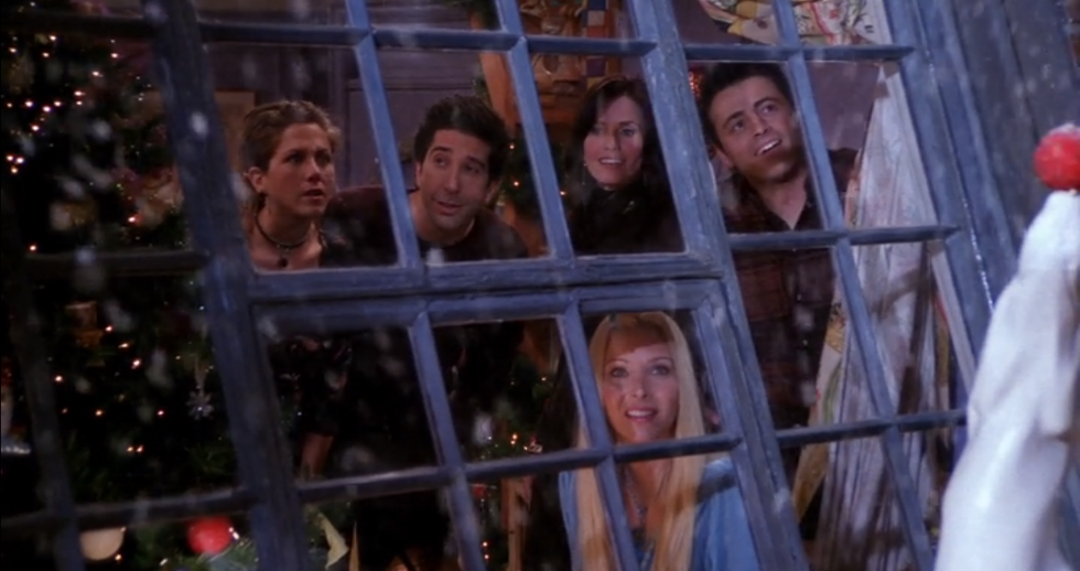 11 Times 'Friends' Told You That Your Winter Break Would Be This Wayyy *Clap Clap Clap Clap Clap*