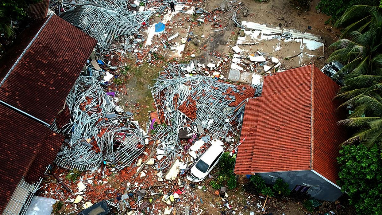 At Least 373 Dead as Surprise Tsunami Strikes Indonesia