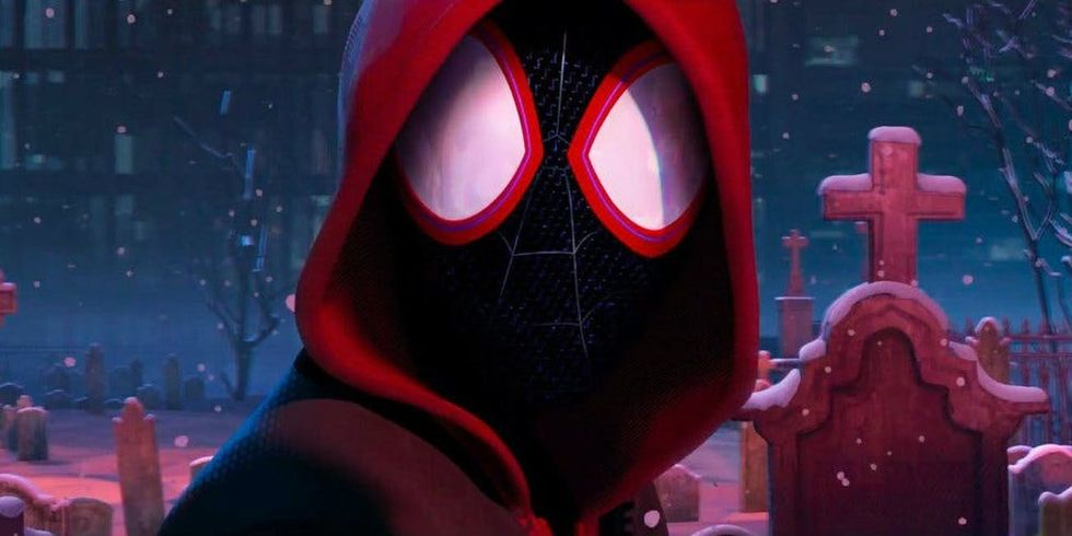 I Couldn't Stop Crying Watching 'Spider-Man: Into The Spider-Verse'