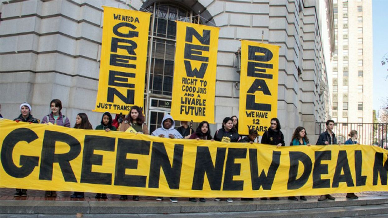 Could a Green New Deal Boost the Farm and Food Justice Movement?