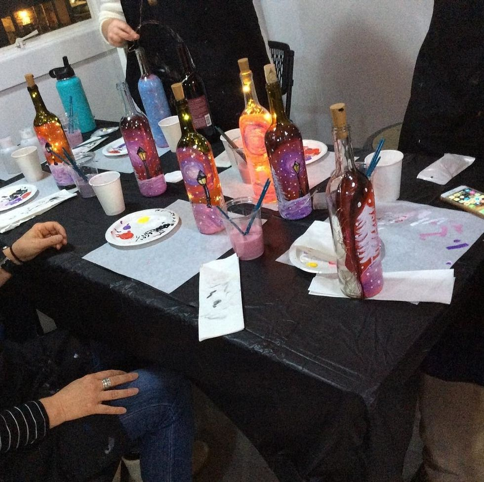 How To Paint A Wine Bottle For Any Occasion