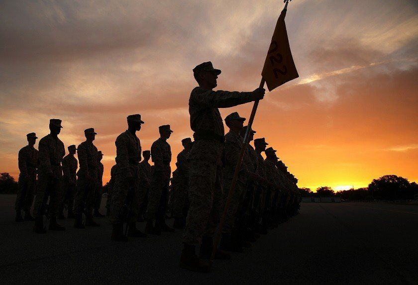 How To Survive The First 4 Weeks Of Marine Boot Camp - Task