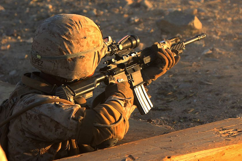 Army Round Triggers Problems In Marine M27 Auto Rifle - Task