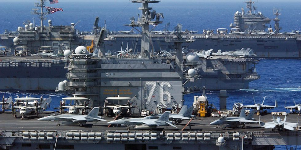 Here's Why Aircraft Carriers Are Ready To Go The Way Of The