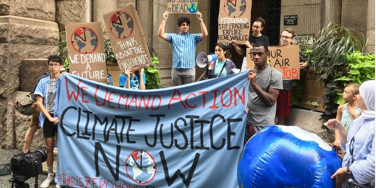 Youth Climate Strike Coming to U.S. Next Month