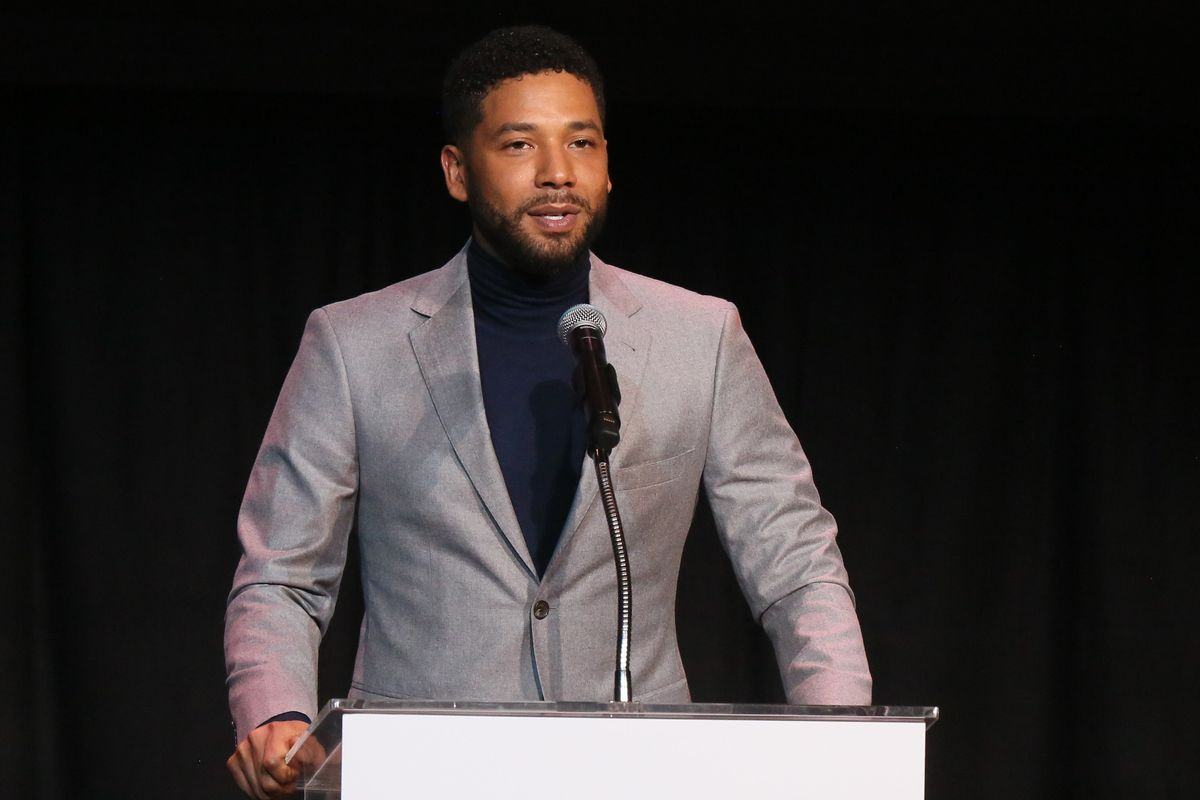 Jussie Smollett Is Back Onstage