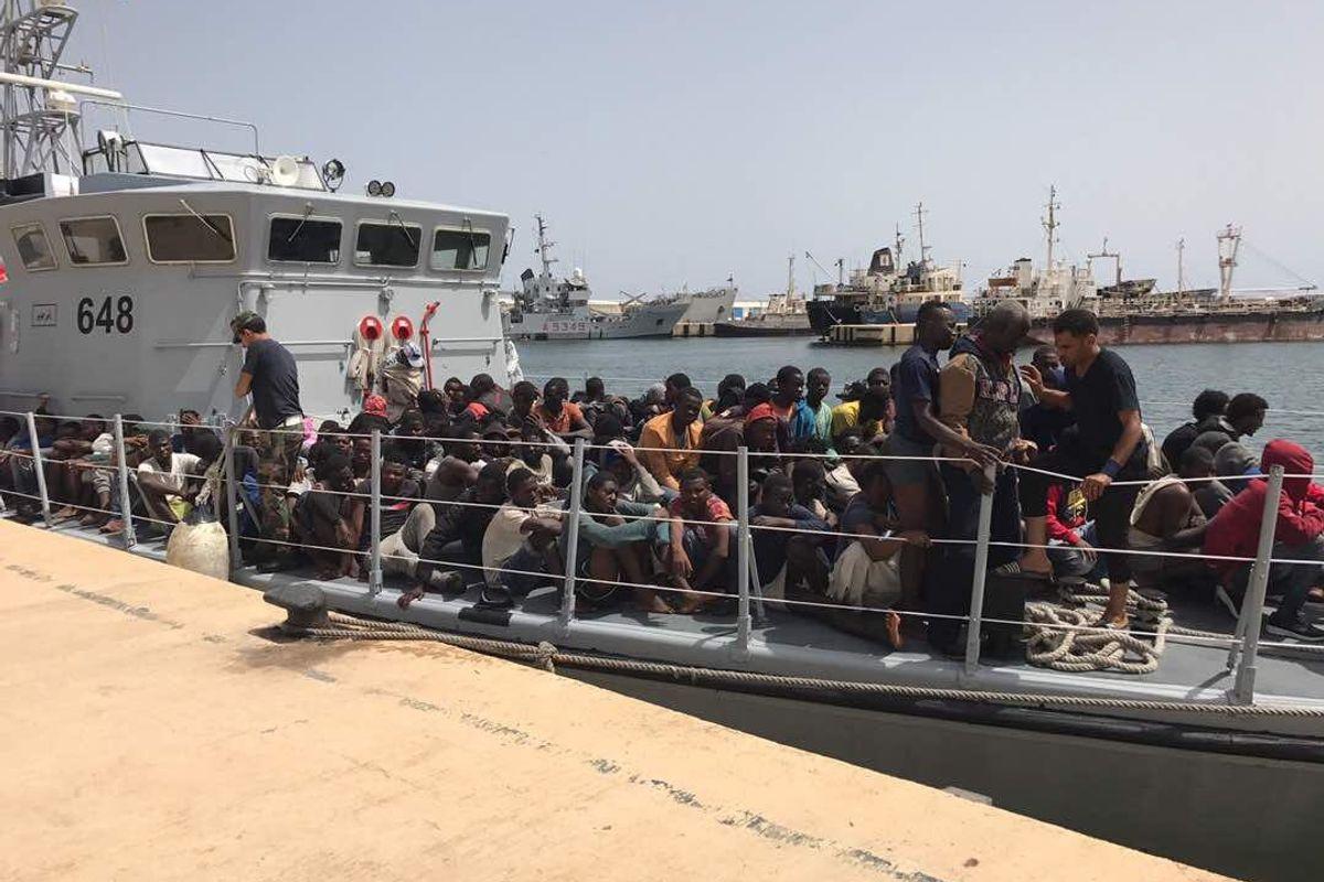 «Riportare i migranti in Libia? Si può fare». Lo dice anche il diritto navale