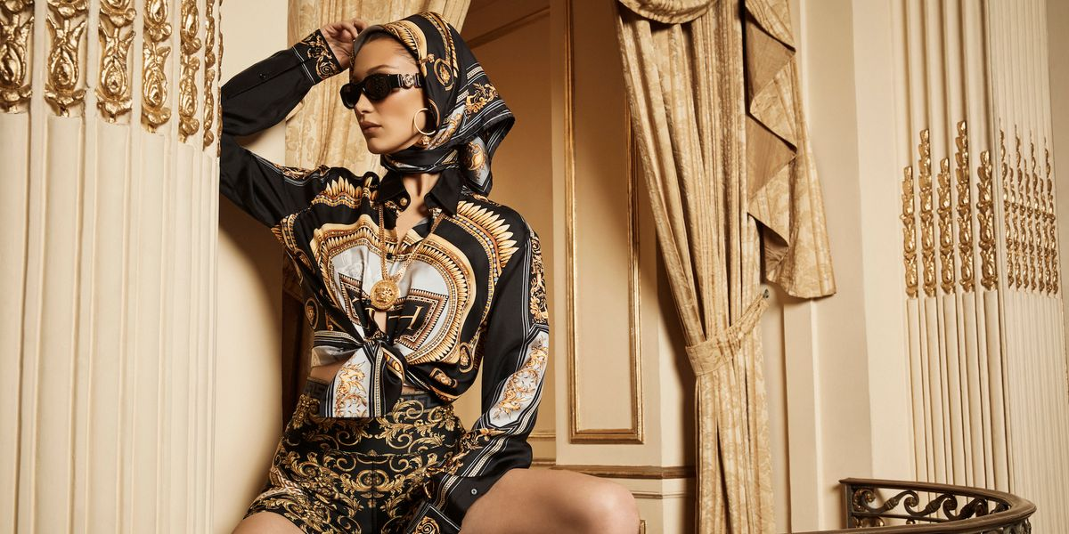 Bella Hadid Tapped for Kith x Versace Collection