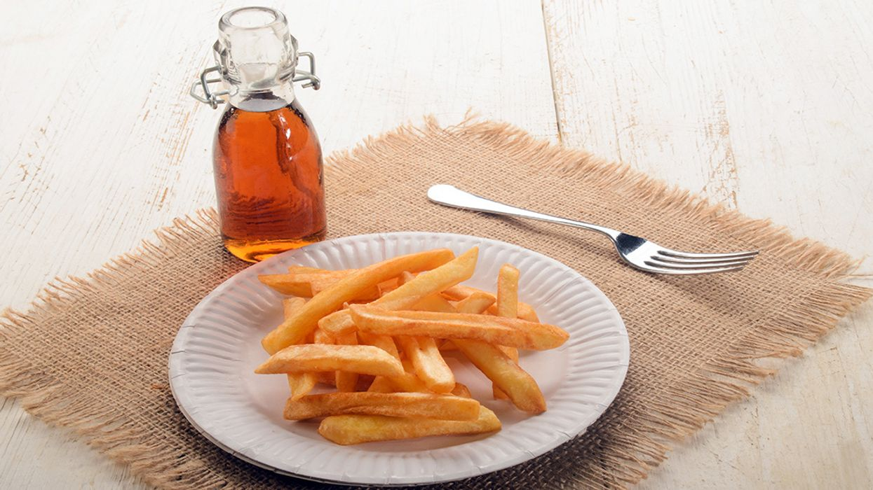 British Chips Now One Inch Shorter Due to Climate Change