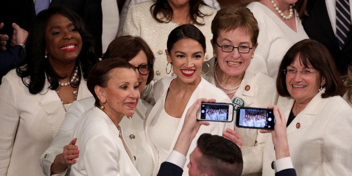 Why Democratic Women Wore White to the SOTU