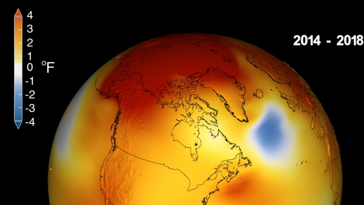 'A Red Screaming Alarm Bell' to Banish Fossil Fuels: NASA Confirms Last 5 Years Hottest on Record