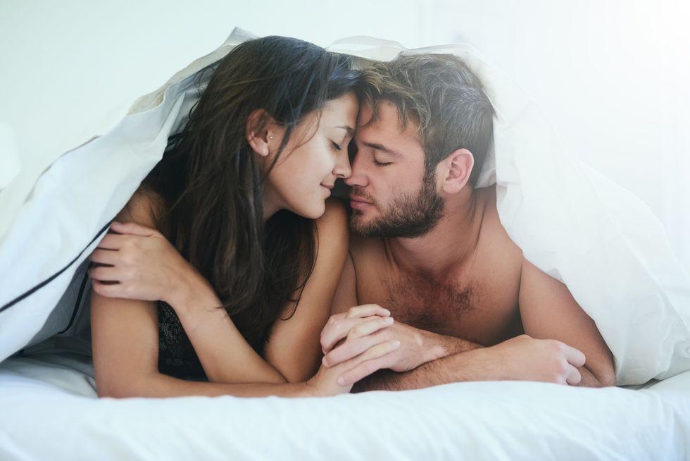 Female Orgasm During Creampie