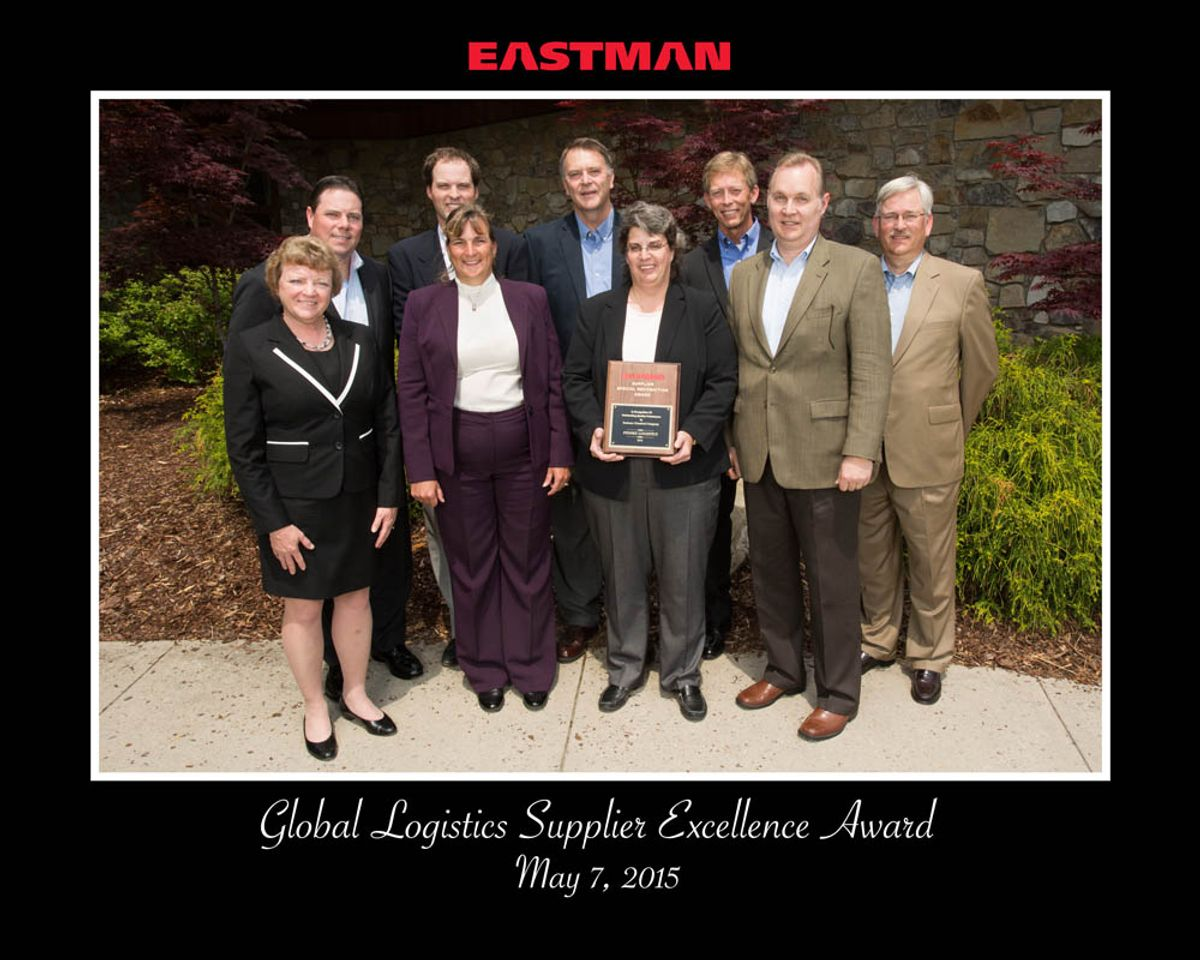 Penske Recognized for Supplier Excellence by Eastman Chemical