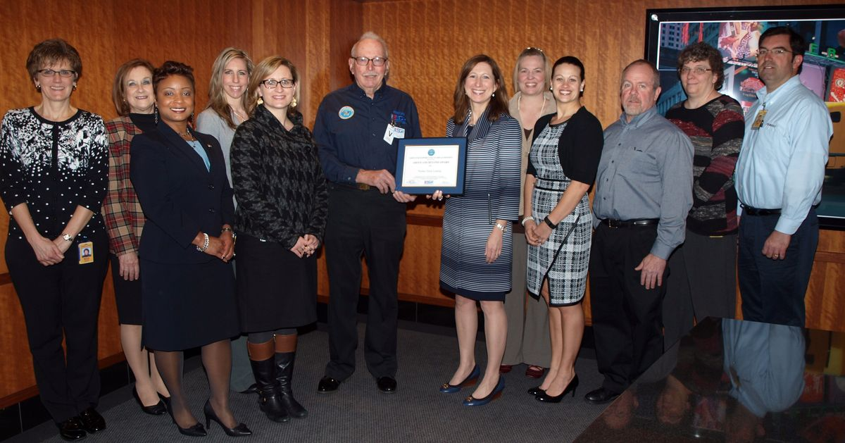 Penske Receives Above and Beyond Award for Military Support