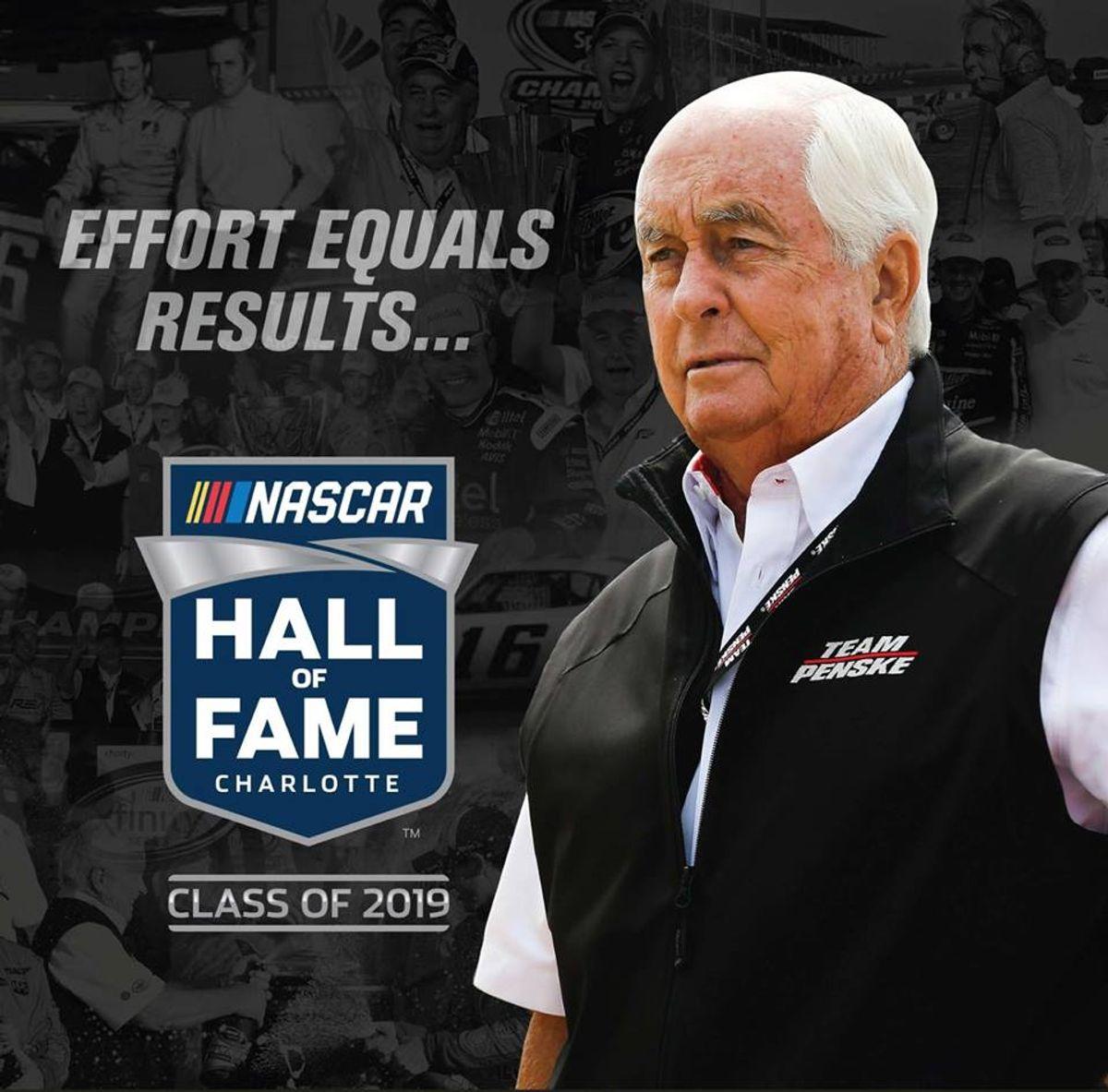 Roger Penske Inducted Into NASCAR Hall of Fame