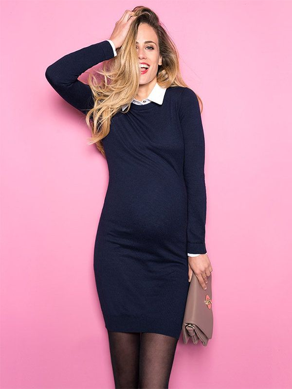 dc9531be9eeee 10 Sweater Dresses for Pregnancy - Motherly