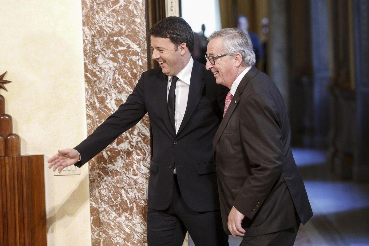 «Rubo voti a Berlusconi». Renzi svela a Juncker il piano per il suo partito