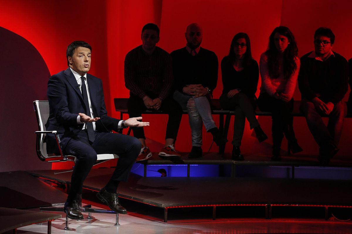 Renzi ha meno audience dei filmetti di Natale