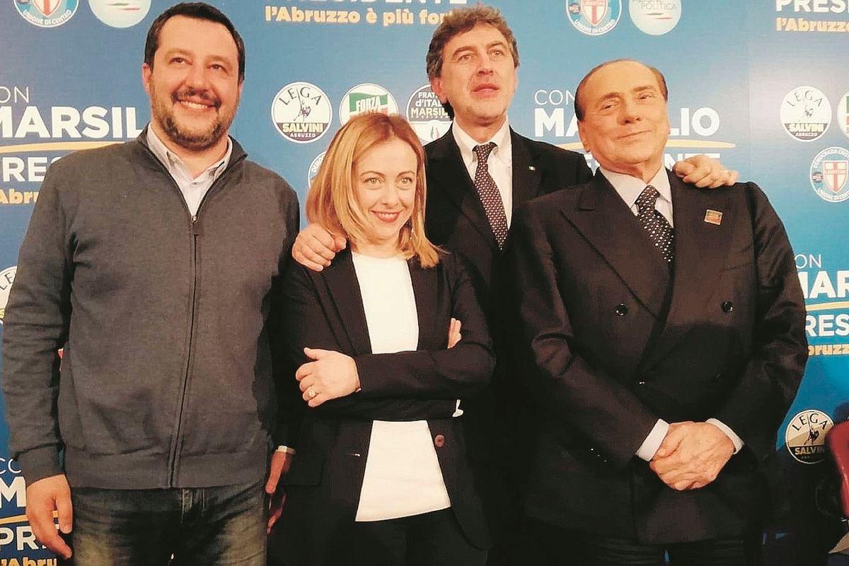 Il centrodestra finge di essere unito Ma Salvini si tiene a debita distanza