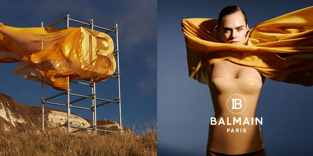 Olivier Rousteing on Cara Delevingne's Balmain Campaign