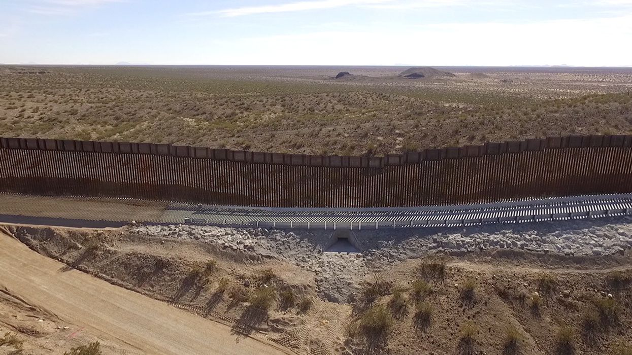 New Video Shows Damage Wrought by Trump's Border Wall