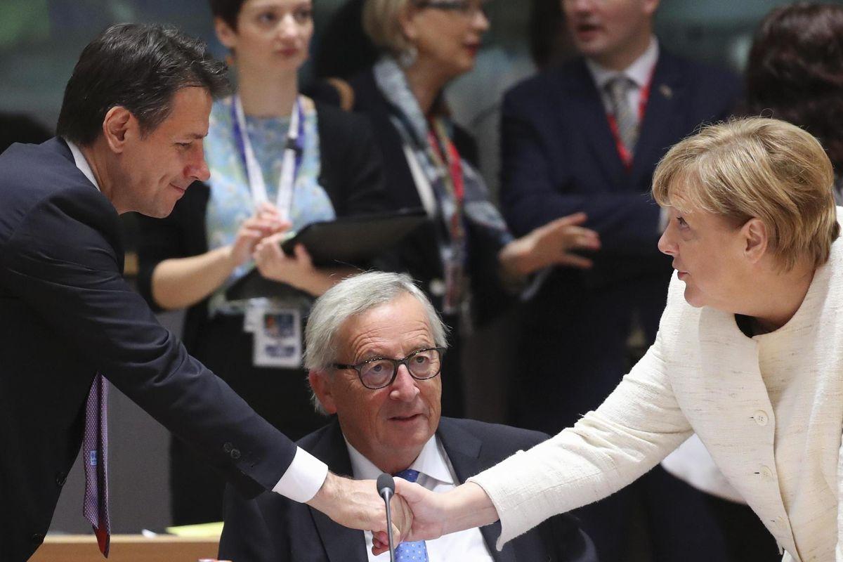 Sui clandestini la Merkel lavora per noi