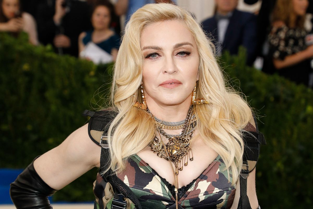 Madonna Teases Snippet of Song About Condoms