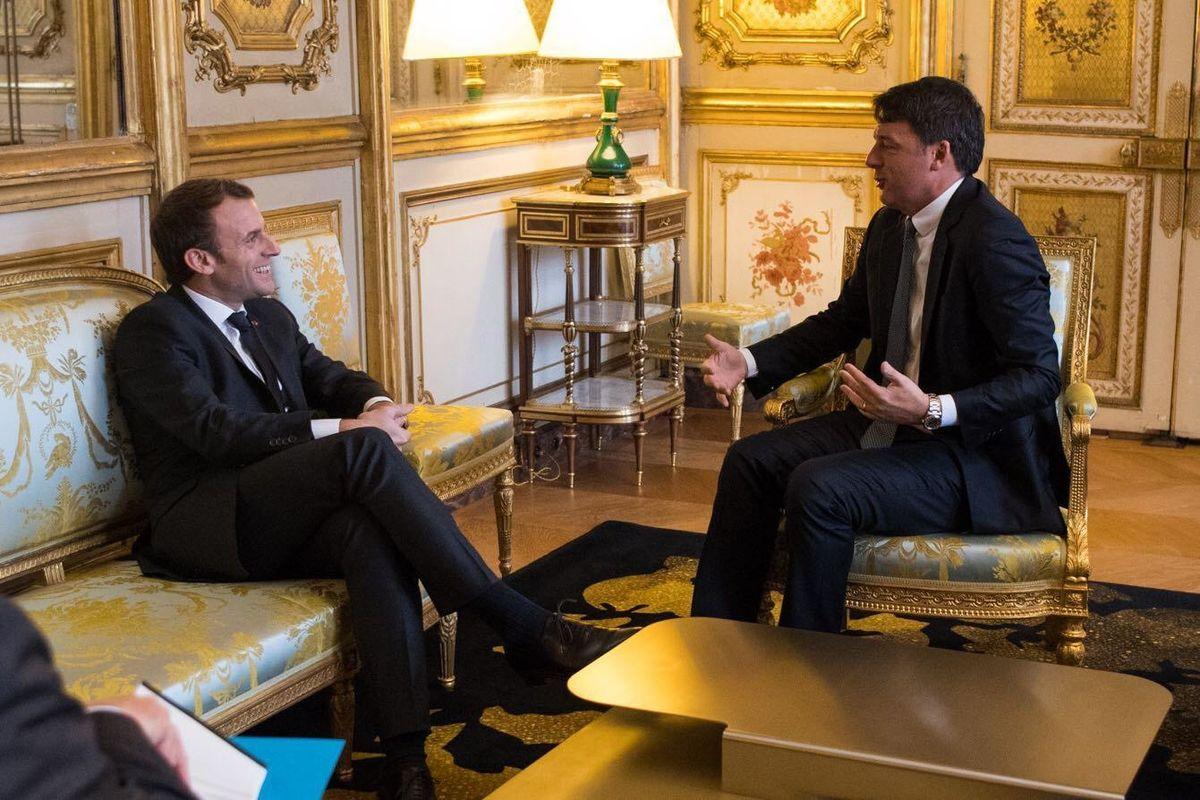 Dal Pd a Fi, dai giornali alle tv, tutti con Macron contro l'Italia