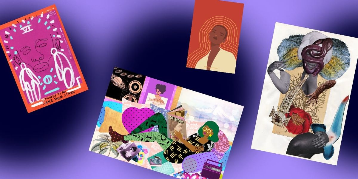 These Black Artists Are Making Beautiful, Affordable Art