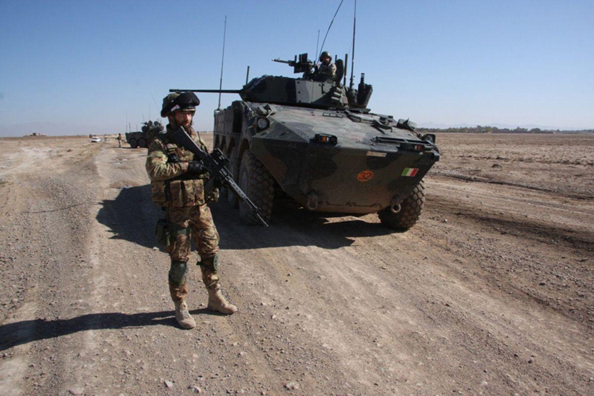Le missioni di pace fanno ammalare i soldati