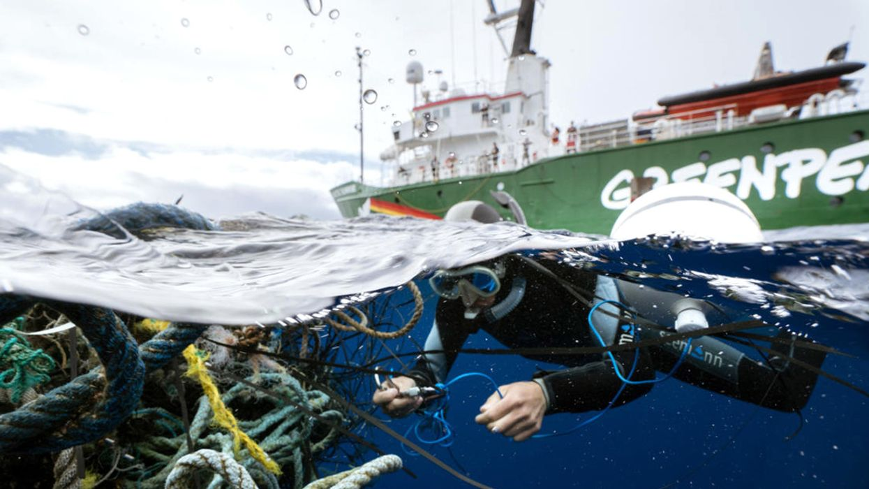 Greenpeace Ships Set Sail to Tackle the Global Plastic Pollution Crisis