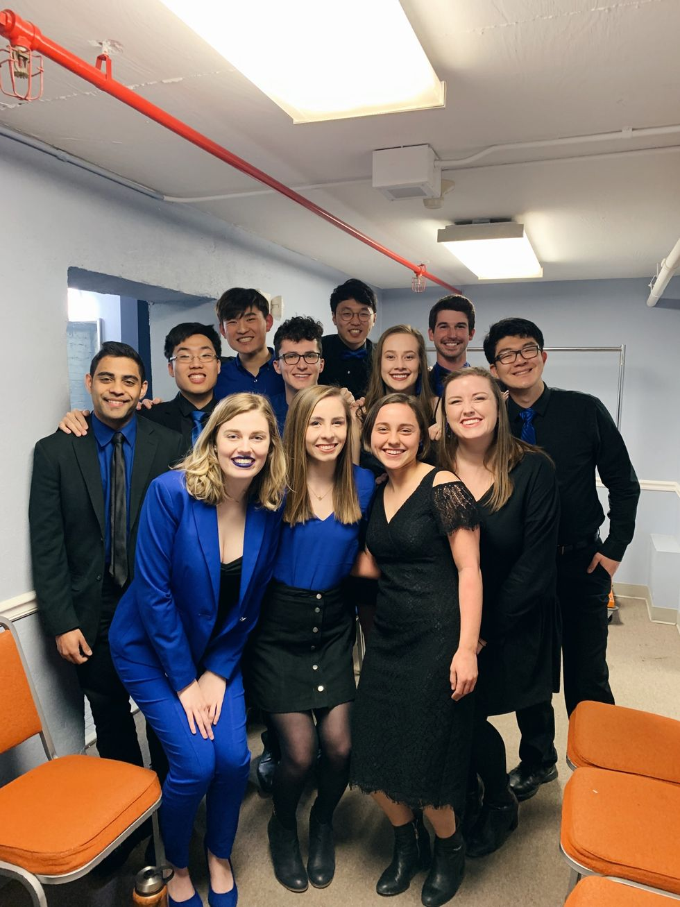 Dooley Noted At The International Competition of Collegiate A Cappella