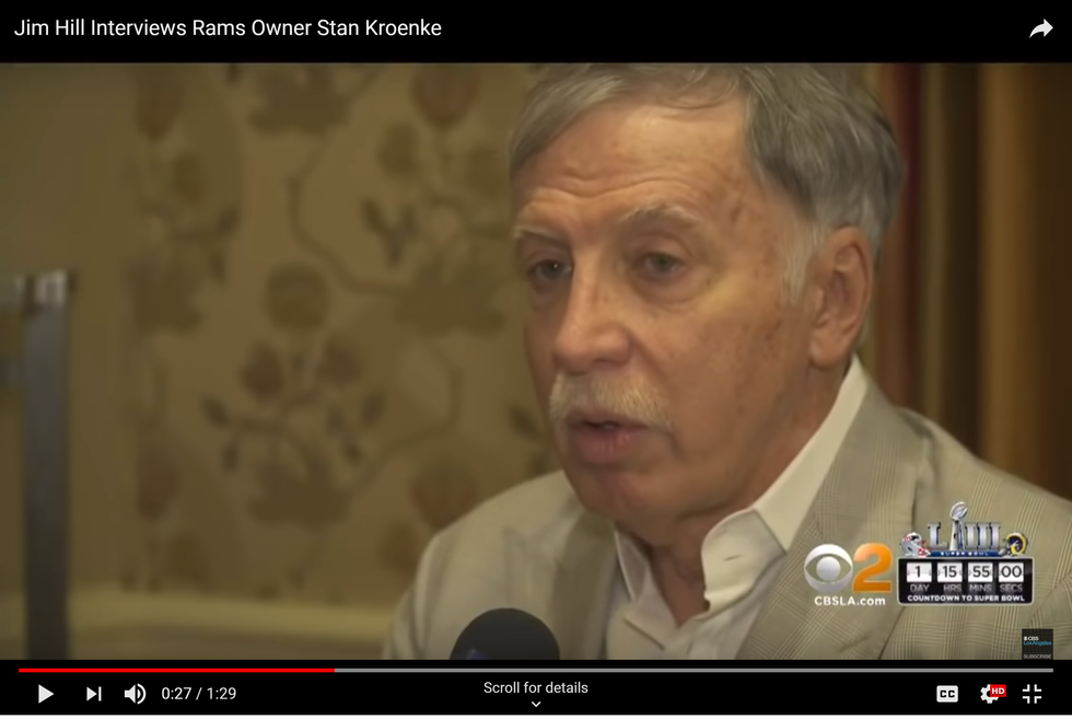 Regardless Of The Team's Results, Rams Owner Stan Kroenke Is AWFUL