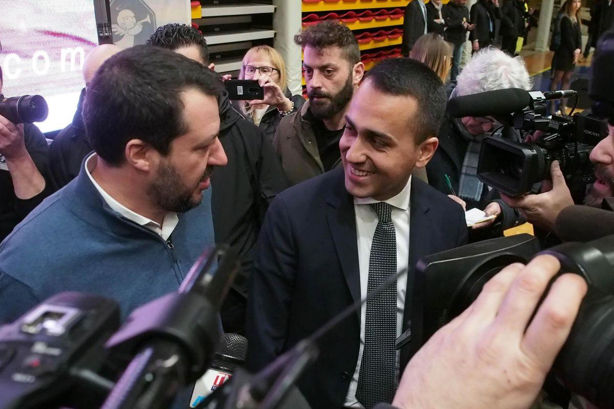 Di Maio: «Appoggiamo Matteo ma non quando attacca i magistrati»