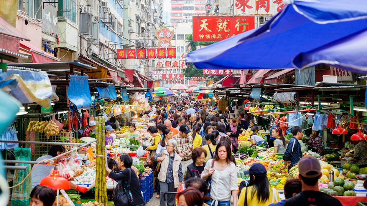 Hong Kong Imports Over 90 Percent of Its Food, But That's About to Change