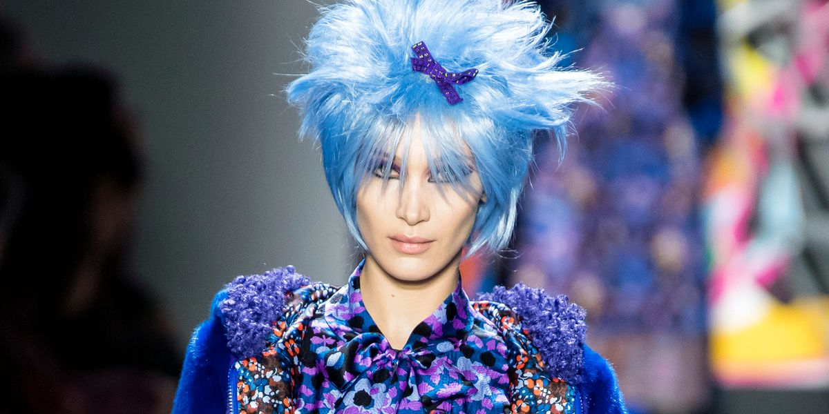 Anna Sui Wants You to Match Your Hair to Your Outfit