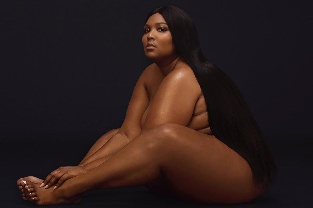 Lizzo Dropped Her Gorgeous Nude Album Cover
