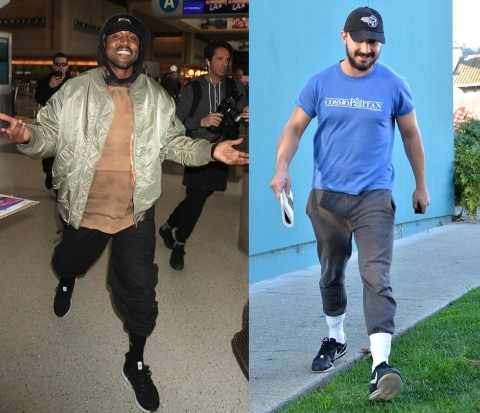 Image result for sweatpants tucked into socks nba