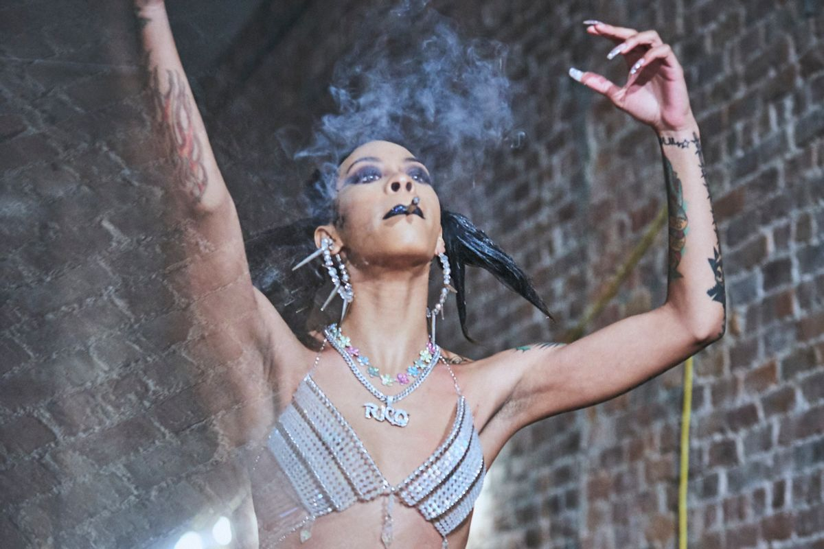 Rico Nasty Smoked a Joint at Gypsy Sport