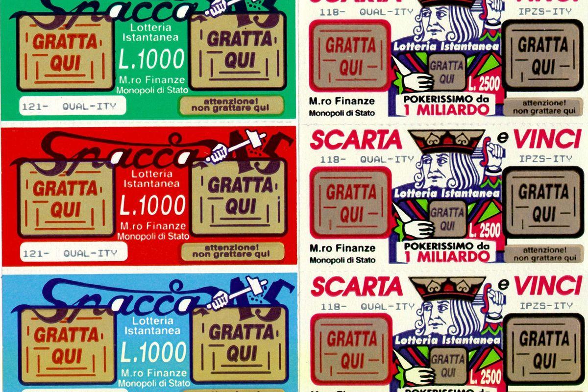 Chi vince la lotteria diventa povero in 2 anni
