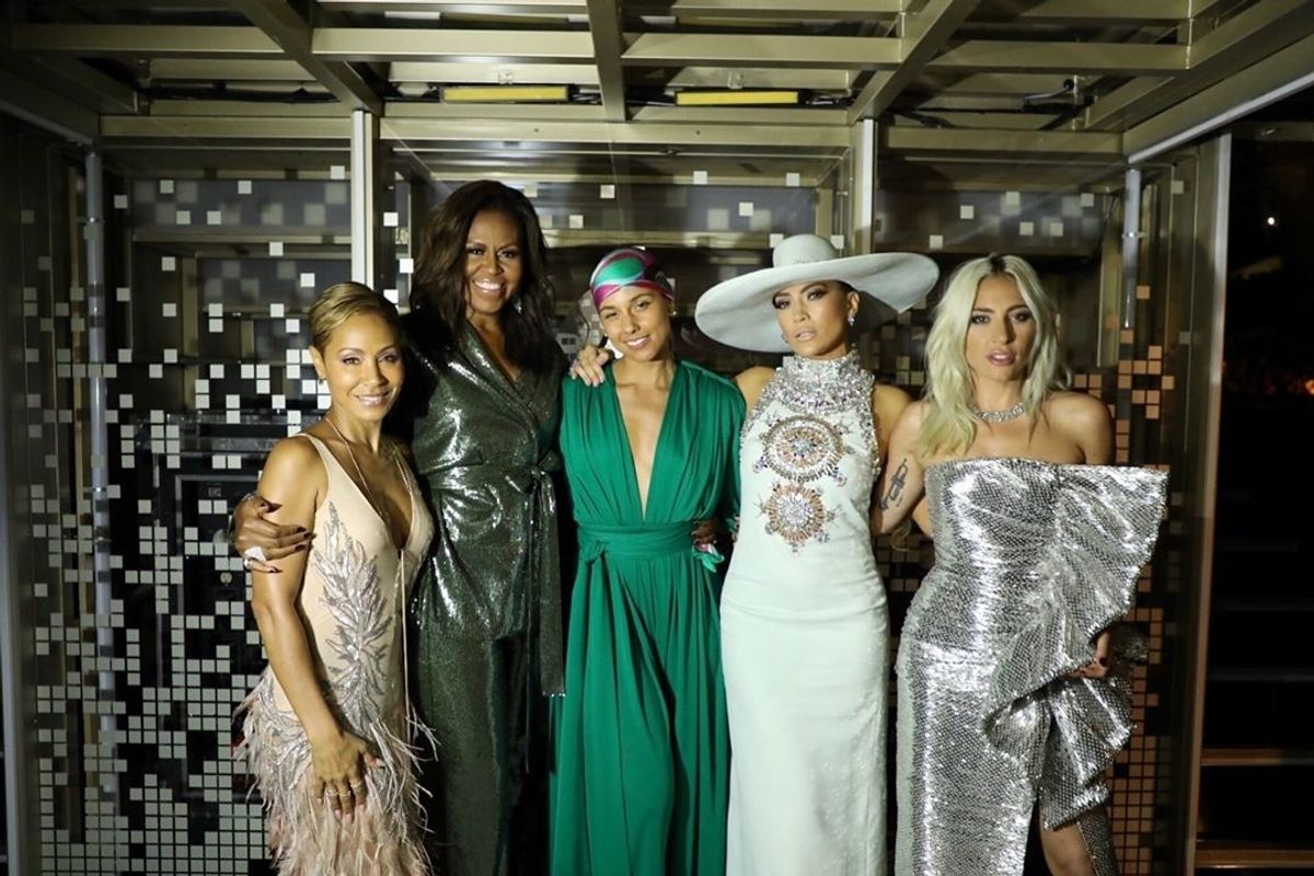 Michelle Obama's Mom Wasn't Impressed With Her Grammys Speech