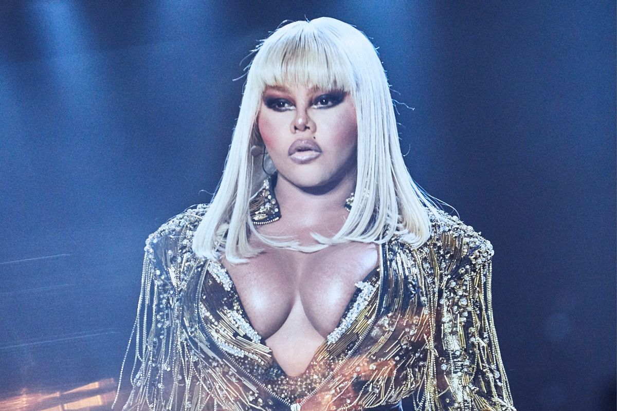 Lil' Kim Performed at The Blonds