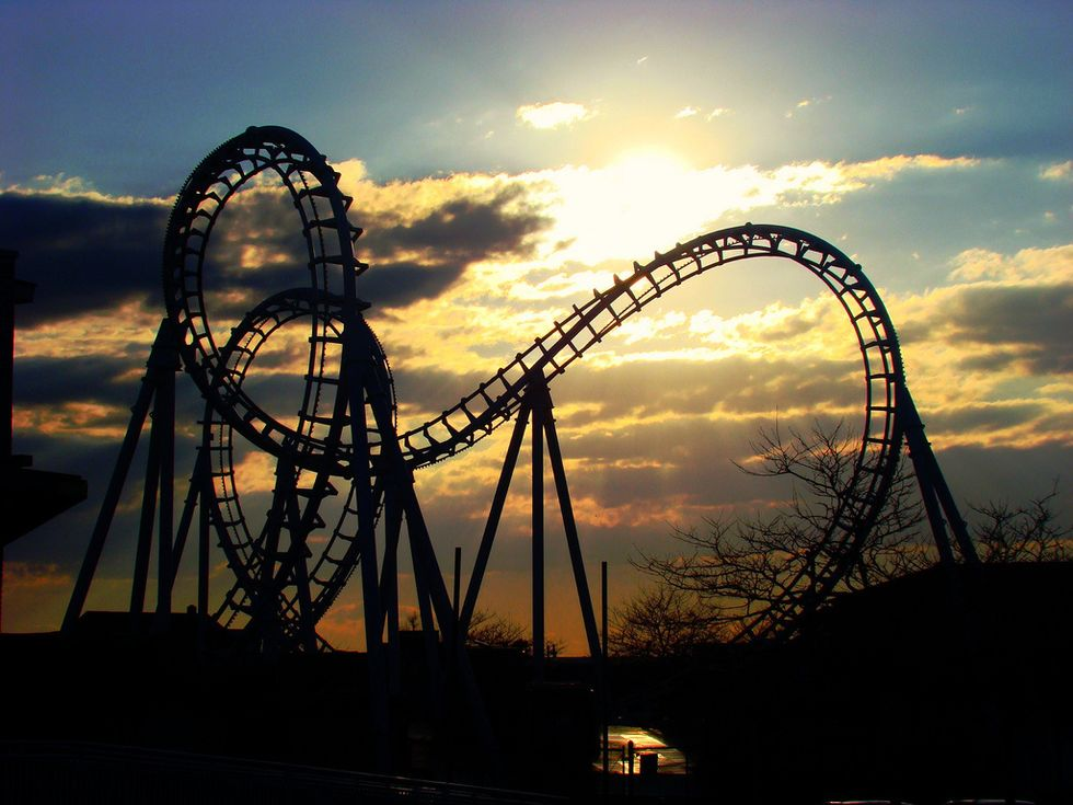 Poetry On Odyssey: Eternal Love Is Like A Roller Coaster: A Poem For All Committed Relationships