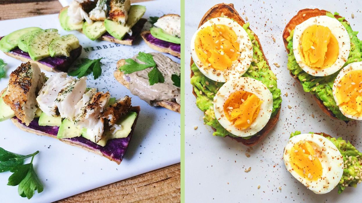 How to Make That Sweet Potato Toast You've Been Seeing Everywhere on Instagram
