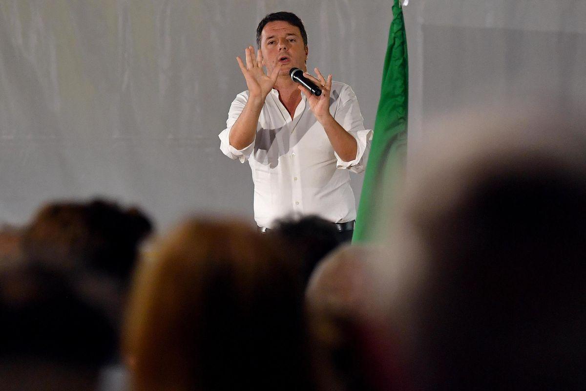Mediaset rimuove il Renzi show dai palinsesti