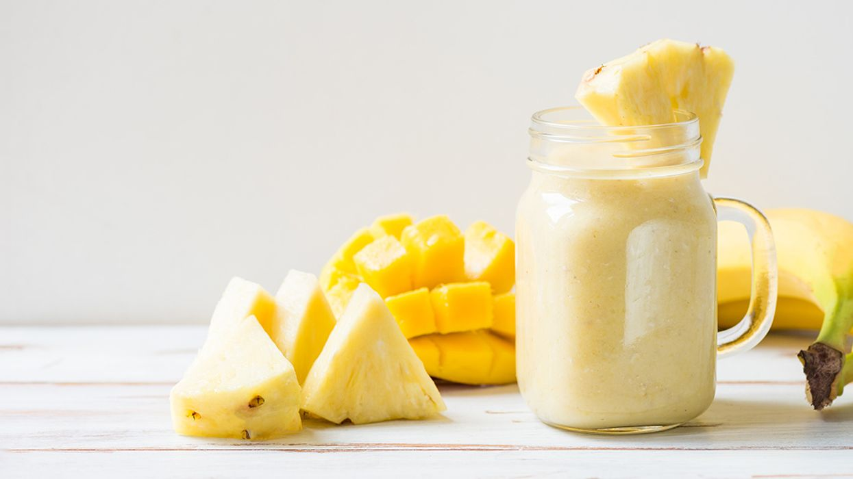 Soothe Your Pain With This Mango CBD Oil Smoothie