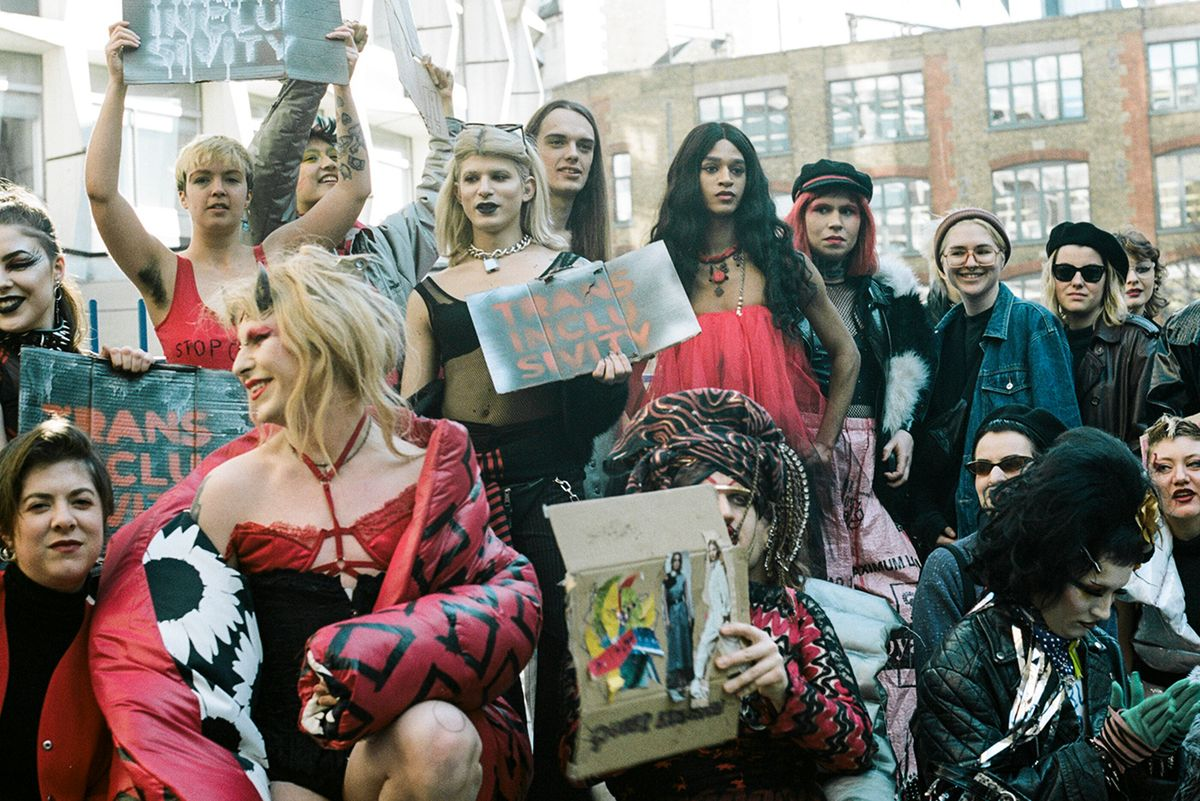 Trans Activists Demand Inclusion at London Fashion Week